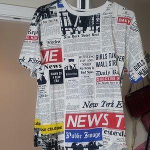 Newspaper Article Shirt